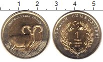 Изображение Монеты Турция 1 лира 2015 Биметалл XF