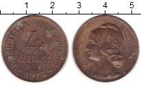 Изображение Монеты Португалия 4 сентаво 1917 Медь VF