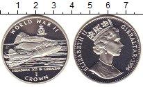 Изображение Монеты Гибралтар 1 крона 1994 Серебро Proof- 2-я мировая война. Э