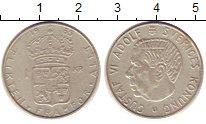 Изображение Монеты Швеция 1 крона 1965 Серебро XF Густаф VI