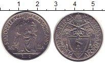 Изображение Монеты Ватикан 1 лира 1942 Алюминий XF