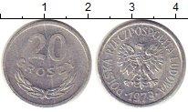Изображение Монеты Польша 20 грош 1973 Алюминий XF
