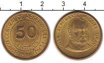 Изображение Монеты Перу 50 сентим 1988 Латунь XF номинал - Великий ад