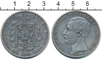 Изображение Монеты Германия Ольденбург 1 талер 1860 Серебро XF