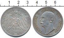 Изображение Монеты Анхальт-Дессау 3 марки 1911 Серебро XF левый профиль Фридри