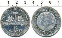 Изображение Монеты Гаити 50 гурдес 1977 Серебро Proof- ЧМ по футболу в Арге