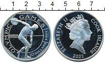 Изображение Монеты Острова Кука 10 долларов 2001 Серебро Proof