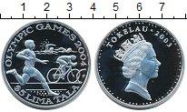 Изображение Монеты Токелау 5 тала 2003 Серебро Proof