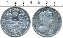 Изображение Монеты Великобритания Фолклендские острова 1 крона 2007 Серебро UNC
