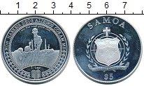 Изображение Монеты Самоа 5 долларов 2012 Серебро Proof-