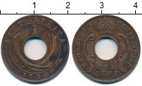 Изображение Монеты Восточная Африка 1 цент 1930 Бронза XF Георг V