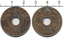 Изображение Монеты Великобритания Восточная Африка 5 центов 1942 Бронза XF