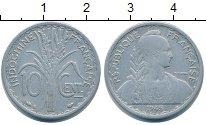 Изображение Монеты Индокитай 10 центов 1945 Алюминий VF