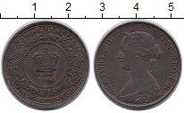 Изображение Монеты Нью-Брансуик 1 цент 1864 Бронза XF