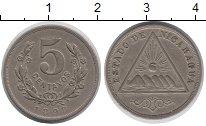 Изображение Монеты Никарагуа 5 сентаво 1898 Медно-никель XF