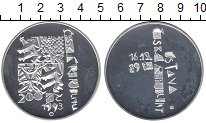 Изображение Монеты Чехия 200 крон 1993 Серебро Proof-