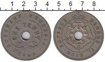 Изображение Монеты Великобритания Родезия 1 пенни 1942 Медно-никель XF-