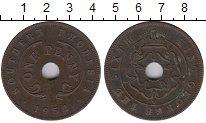 Изображение Монеты Великобритания Родезия 1 пенни 1952 Бронза XF-
