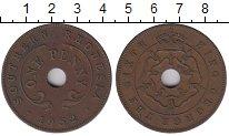 Изображение Монеты Родезия 1 пенни 1952 Бронза XF-