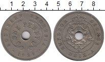 Изображение Монеты Великобритания Родезия 1 пенни 1936 Медно-никель XF-