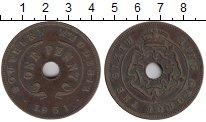Изображение Монеты Родезия 1 пенни 1951 Бронза XF-