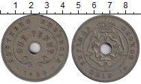Изображение Монеты Великобритания Родезия 1 пенни 1939 Медно-никель XF-
