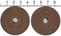 Изображение Монеты Великобритания Родезия 1 пенни 1942 Бронза XF-