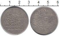Изображение Монеты Турция 1 куруш 1695 Серебро XF-