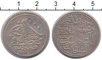 Изображение Монеты Турция 1 онлук 1733 Серебро XF-