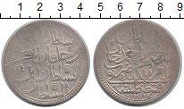 Изображение Монеты Турция 2 золота 1788 Серебро VF