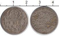 Изображение Монеты Польша 1 грош 1609 Серебро XF-
