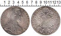 Изображение Монеты Австрия 1 талер 1870 Серебро UNC- РЕСТРАЙК