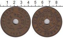 Изображение Монеты Великобритания Родезия 1 пенни 1932 Бронза XF-