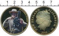 Изображение Монеты Новая Зеландия 1 доллар 2005 Латунь Proof-