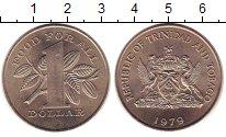 Изображение Монеты Тринидад и Тобаго 1 доллар 1979 Медно-никель UNC-