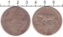 Изображение Монеты Анхальт-Бернбург 2/3 талера 1799 Серебро XF-