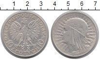 Изображение Монеты Польша 10 злотых 1932 Серебро XF-