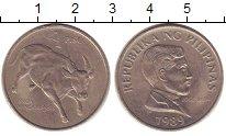 Изображение Монеты Филиппины 1 песо 1989 Медно-никель XF