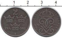 Изображение Монеты Швеция 2 эре 1950 Железо XF