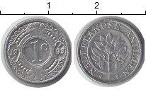 Изображение Монеты Антильские острова 1 цент 1998 Алюминий XF