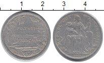 Изображение Монеты Франция Полинезия 1 франк 2004 Алюминий XF