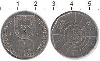 Изображение Монеты Португалия 20 эскудо 1998 Медно-никель XF