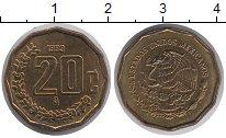 Изображение Монеты Мексика 20 сентаво 1999 Латунь UNC-