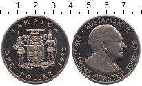 Изображение Монеты Ямайка 1 доллар 1970 Медно-никель Proof