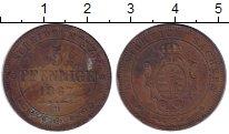 Изображение Монеты Германия Саксония 5 пфеннигов 1867 Медь VF