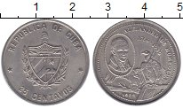 Изображение Монеты Куба Куба 1989 Медно-никель UNC