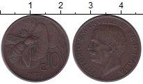 Изображение Монеты Италия 10 сентесим 1933 Бронза XF