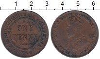 Изображение Монеты Австралия 1 пенни 1921 Бронза XF- Георг V
