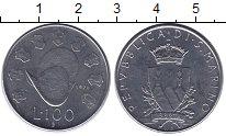 Изображение Монеты Сан-Марино 100 лир 1979 Медно-никель XF
