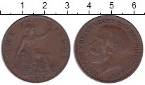 Изображение Монеты Великобритания 1 пенни 1919 Бронза VF